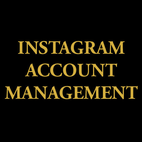 Instagram account management agency