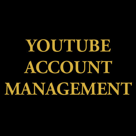 youtube account management agency