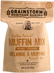 GRAINSTORM Golden Kamut Muffin Mix