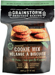 GRAINSTORM All Oatmeal Cookie Mix