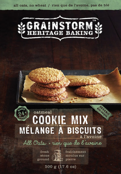 All Oatmeal Cookie Mix