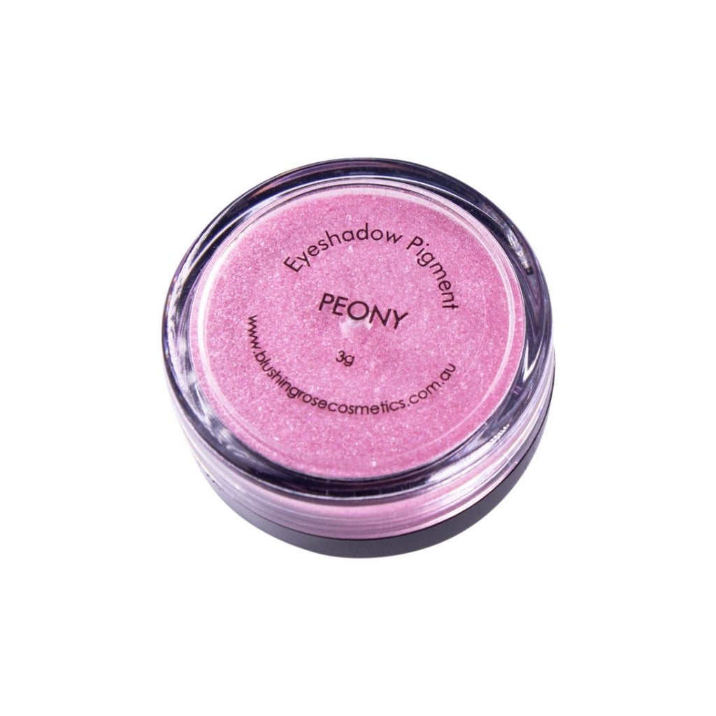Blushing rose cosmetics peony loose pigment