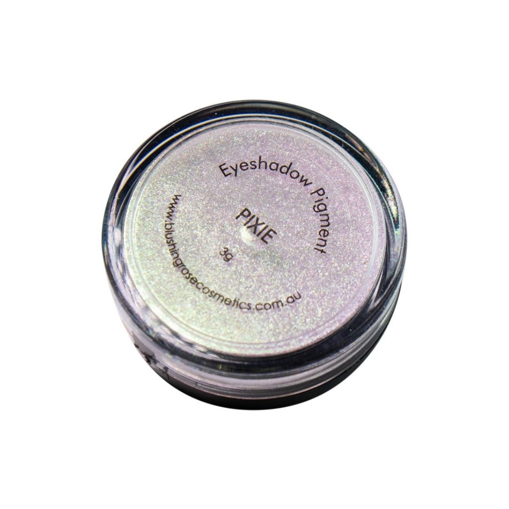 Blushing rose cosmetics pixie loose pigment