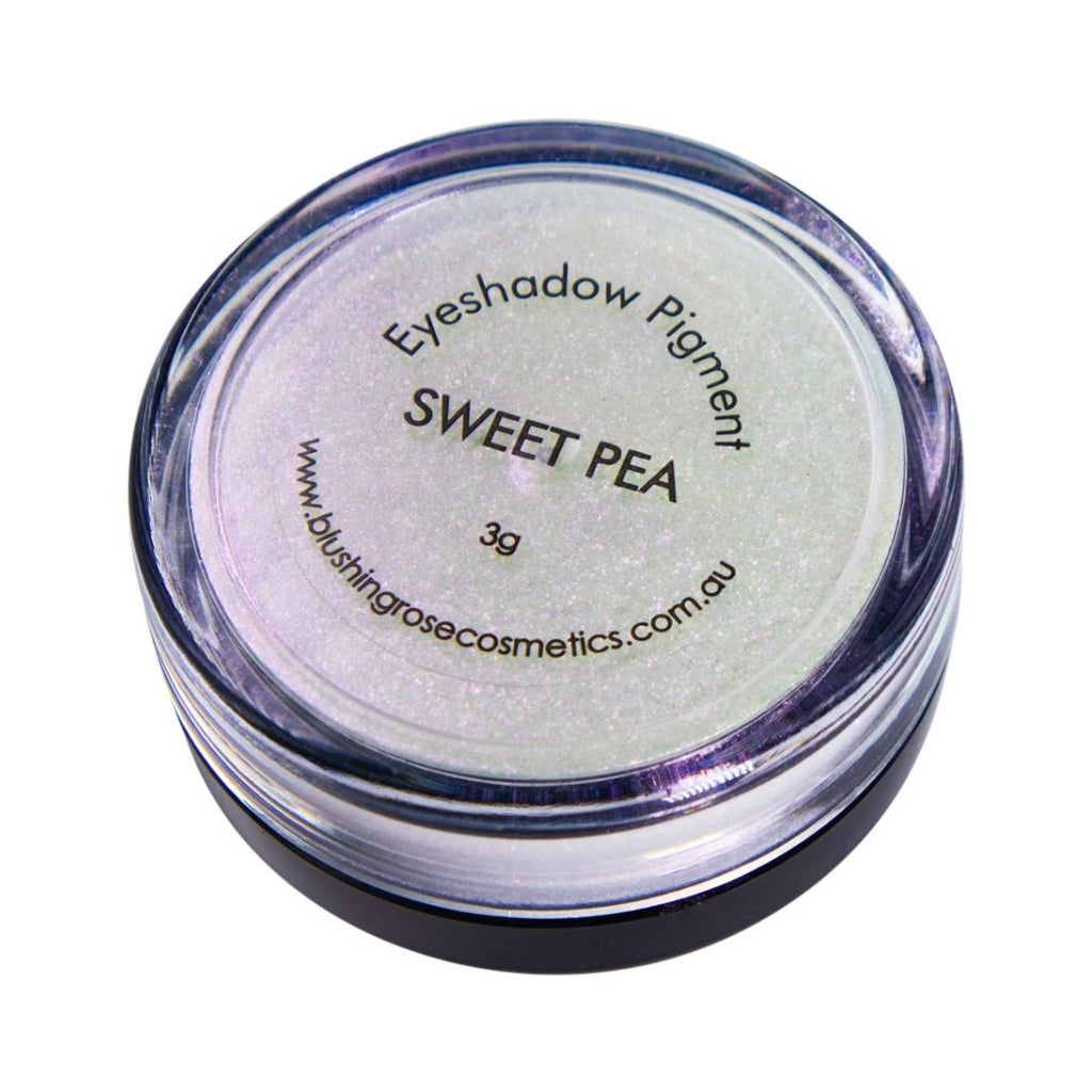 Blushing rose cosmetics sweet pea loose pigment