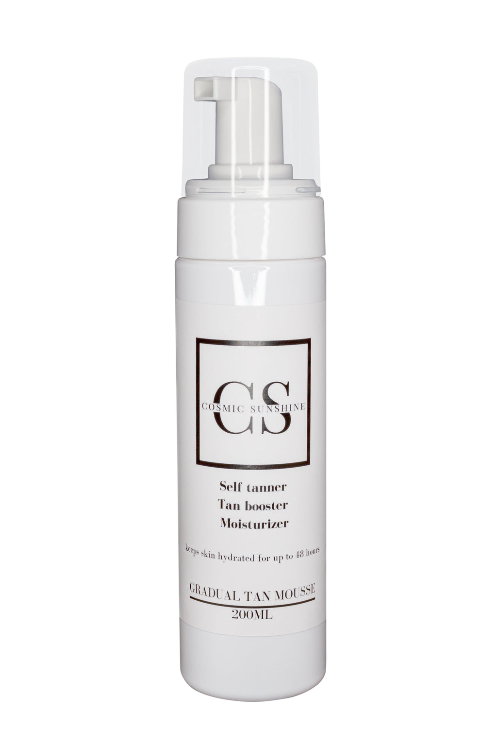 Cosmic sunshine gradual tan mousse