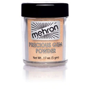 Mehron makeup precious gem powder citrine