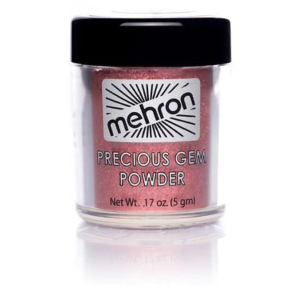Mehron makeup precious gem powder garnet