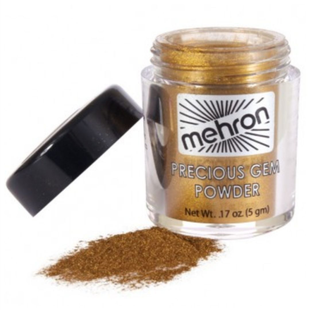 Mehron makeup tigers eye precious gem powder