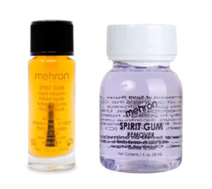 Mehron sfx spirit gum and remover pack