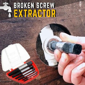 MasterFix Broken Screw Extractor (Set of 6) Home starryhome