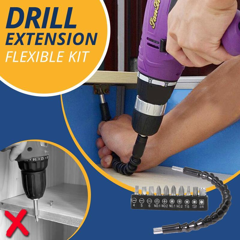 Flexible Drill Extension Kit Home starryhome