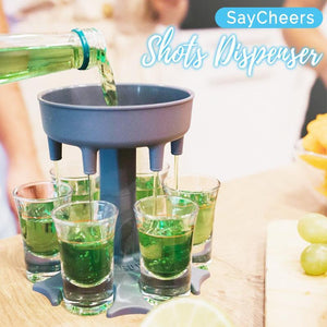 SayCheers 6 Shot Glass Dispenser Kitchen starryhome