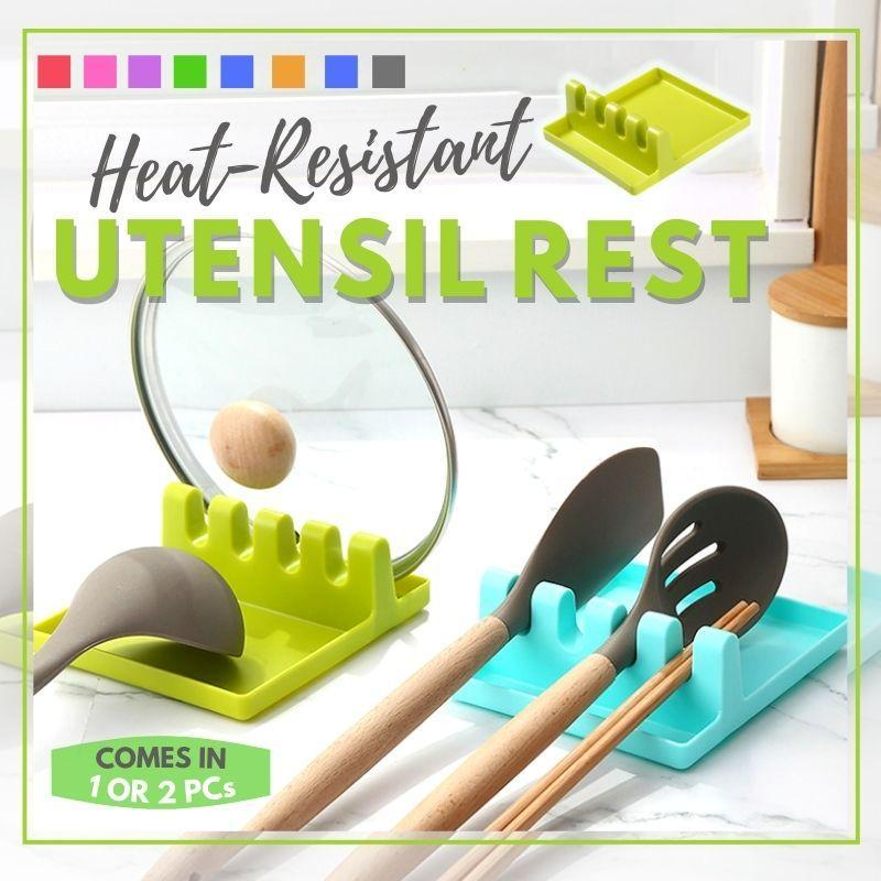 Heat-Resistant Utensil Rest starryhome
