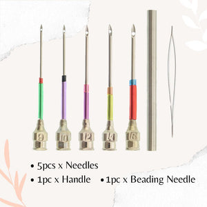 EasyStitch Embroidery Stitching Punch Needles Set Home starryhome