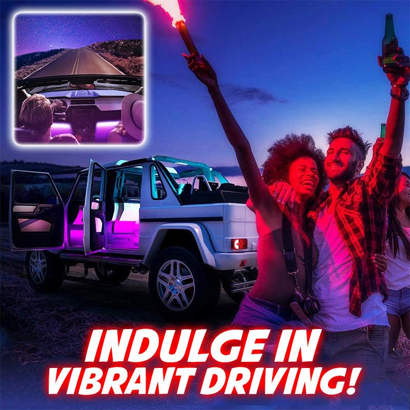 Car Interior LED Light Car DazzyCandy