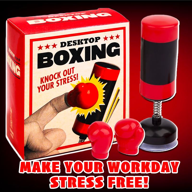 Knock Out Stress!! Desktop Boxing Kids DazzlingBreeze