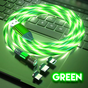 Magnetic Light-Up Charging Cable Gadgets DazzyCandy