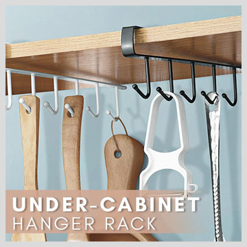 Under - Cabinet Hanger Rack (6 Hook)