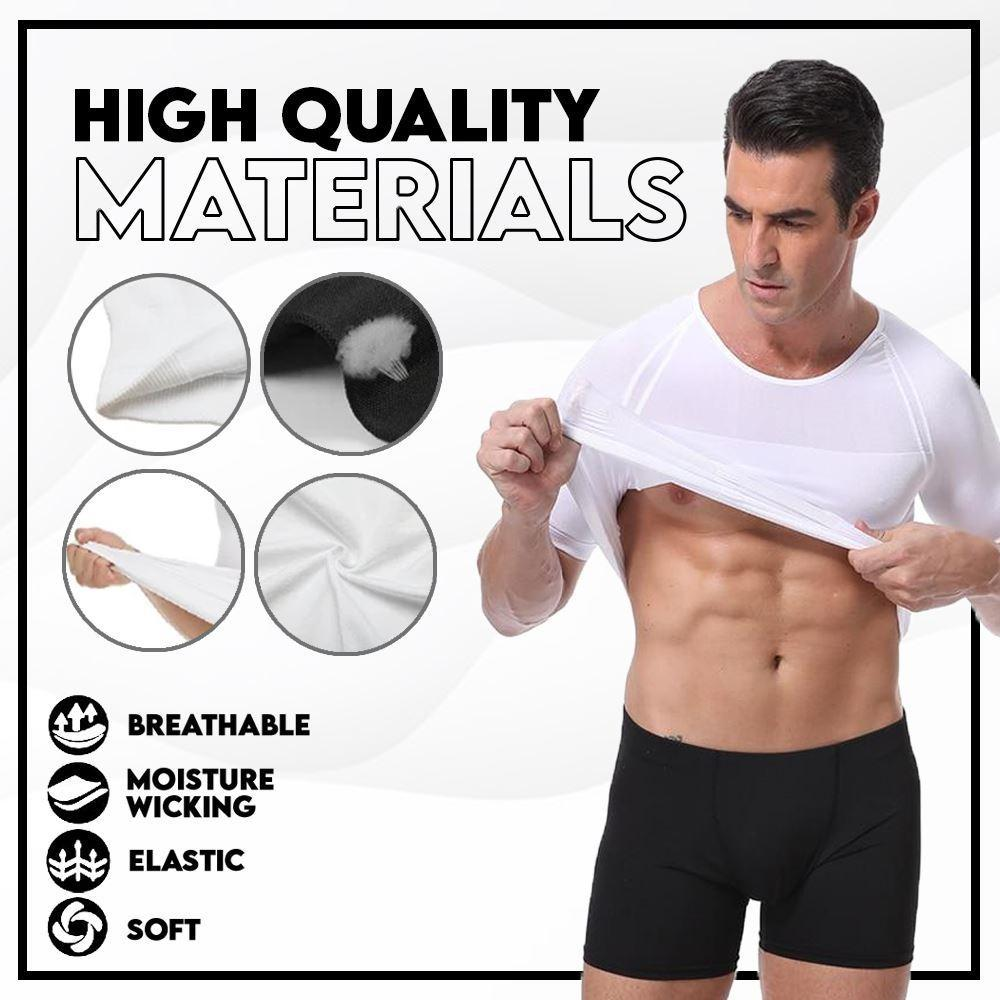 CoolX™️ Men's Powerful Shaper T-Shirt Men MadameFlora