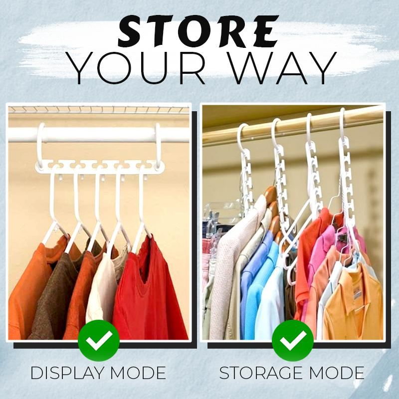 2-Way Smart Hangers (Set of 2) Home DazzyCandy