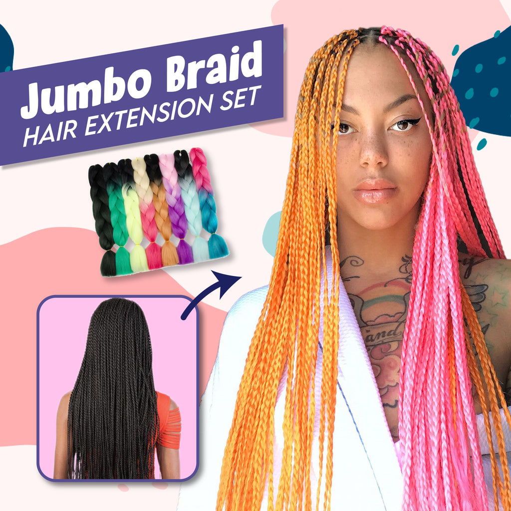 Jumbo Braid Hair Extension Hair MadameFlora