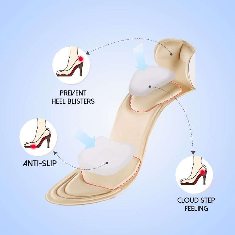 PainKiller™ Heel Cushion Pads Footwear starryhome