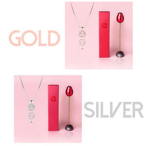 Rose & Necklace Gift Set Jewelry DazzlingBreeze