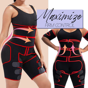 ShapUp 3-in-1 Hip Thigh Waist Shaper Women MadameFlora