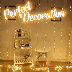 Waterfall String Light Home DazzlingBreeze