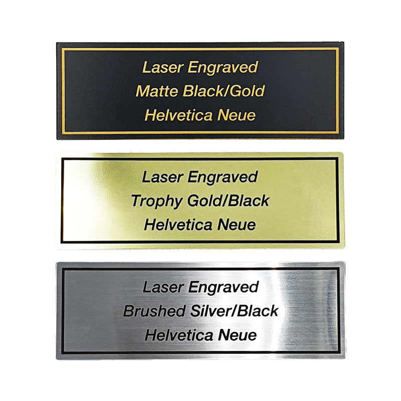 Laser Engraved Flexi Name Plate