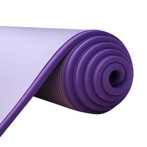 Yoga Mats for Fitness 10MM Extra Thick 183cmX61cm NRB Non-Slip