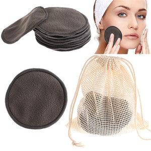 Reusable Bamboo Fiber Washable Rounds Pads