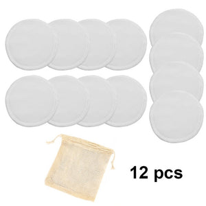 white color round pads