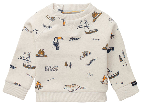 Outdoor Adventure Sweatshirt - Oatmeal