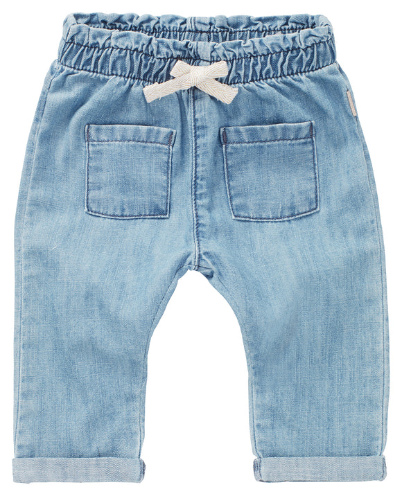 Girls Medium Wash Denim