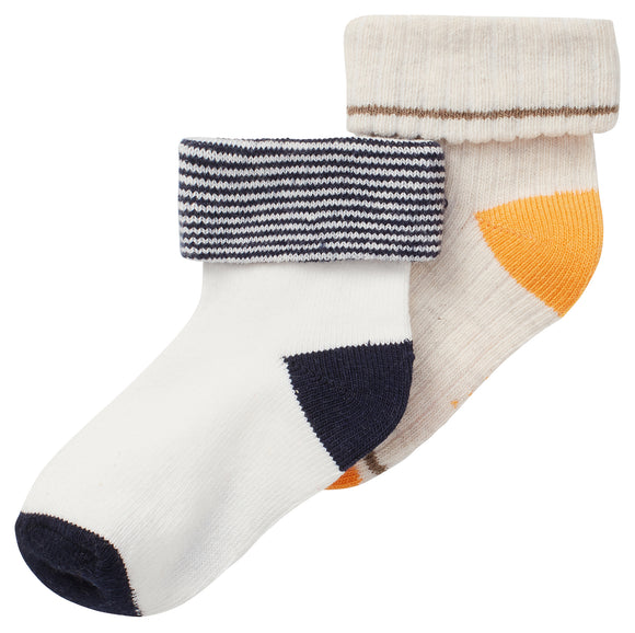 Socks -2 pack Oatmeal