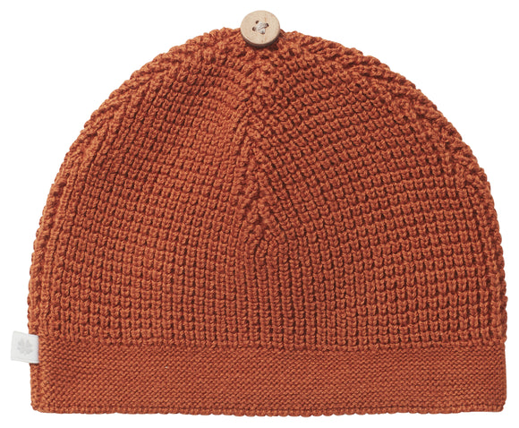 Knit Hat - Roasted Pecan