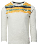 Stripe Long sleeve- Oatmeal and Gold