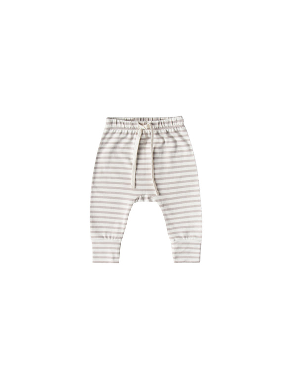 Drawstring Pants- Fog Stripe