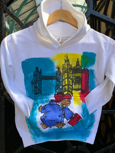 Paddington Bear  in London Kids Hoodies