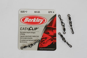 Berkley Easy Clip Snaps & Swivel