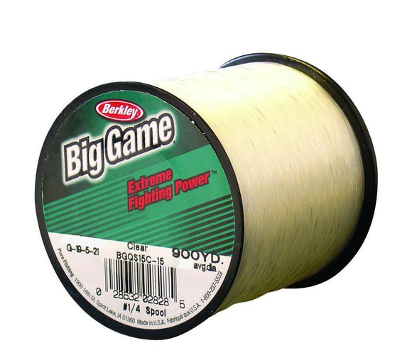 Berkley Big Game Clear Mono Bulk Spool
