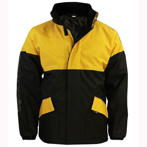 Vass 350 Series Winter Jacket Black & Yellow Front