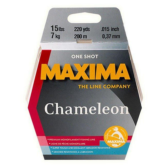 Maxima Chameleon Mono One Shot Spool