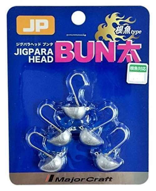 Major Craft Jigpara Bunta Rock Style Jig Heads