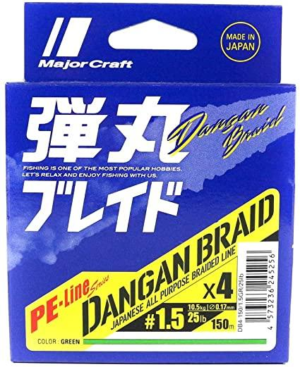 Major Craft X4 PE-Line Series Dangan Braid