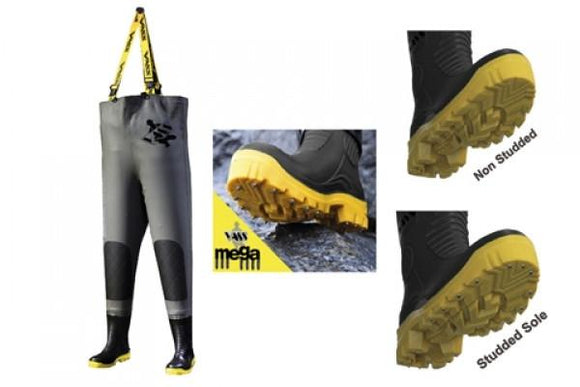 Vass Team Vass 700 Heavy Duty Chest Waders Non Studded