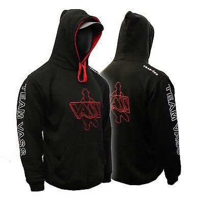 Vass Team Hoody Fleece Black/Red