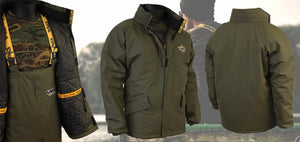 Team Vass 175 Winter Lined Jacket Khaki Green