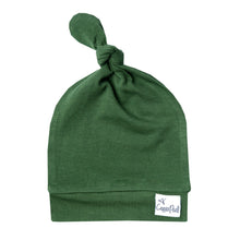 Load image into Gallery viewer, Forest Jersey Knit Top Knot Hat